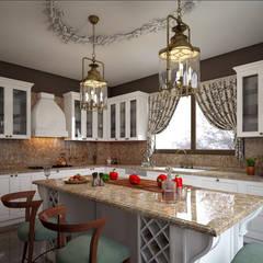 Kitchen by erenyan mimarlık proje&tasarım