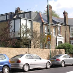 Milman Road - rear extension:  Terrace house by Syte Architects