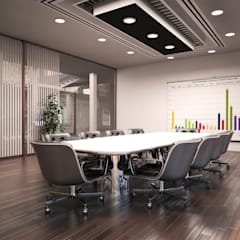 Guest house: Sala multimediale in stile  di I-Render