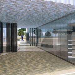 Mill association and educational garden: Centre d'expositions de style  par Pepindebanane