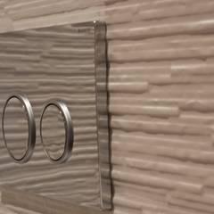 Chalet Les Chantéls: sdb 1: Salle de bains de style  par shep&kyles design