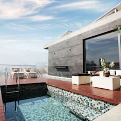 Hồ bơi by Diez y Nueve Grados Arquitectos