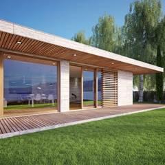 Puertas y ventanas minimalistas de Qr legno srl Minimalista