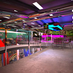 PLAY TEEN: Sedi per eventi in stile  di Architetto  Libero Professionista