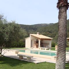منزل عائلي صغير تنفيذ Diego Cuttone, arquitectos en Mallorca,