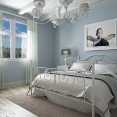 Dormitorios de estilo  por De Vivo Home Design