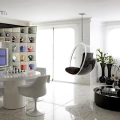 Modern media room by STUDIO CAMILA VALENTINI Modern