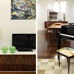 Casa Ideal 2012_Interiores: Salas multimédia  por Tiago Patricio Rodrigues, Arquitectura e Interiores