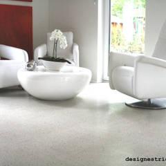 geschliffener Designestrich / Sichtestrich:  Wände von eptbaugmbh