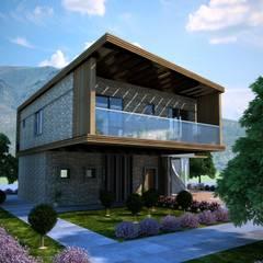 GOOA|GLOBAL OFFICE OF ARCHITECTURE  – Lea Çeşme Houses:  tarz Evler