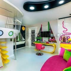 Nursery/kid's room by Akabe Mobilya San ve Tic. Ltd. Şti