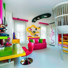 Akabe Mobilya San ve Tic. Ltd. Şti – Özel  Genç Odası Tasarım ve Uygulama (Kişiye Özel Tasarım): minimal tarz tarz Çocuk Odası