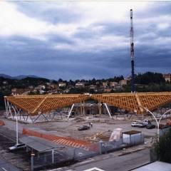 Aquilone di Chicco: Spazi commerciali in stile  di Archiluc's - Studio di Architettura Stefano Lucini Architetto