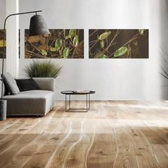 Paredes y suelos de estilo  por PARGA WOHNKONZEPT GMBH