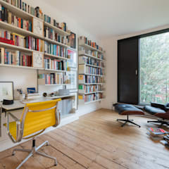 Darnley Road: minimalistic Study/office by Will Eckersley