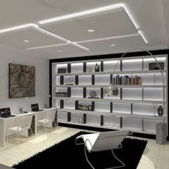 VALLE DE LAS PALMAS: Estudios y oficinas de estilo  por AurEa 34 -Arquitectura tu Espacio-,