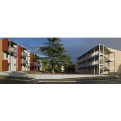 rm residence: Centres commerciaux de style  par mury