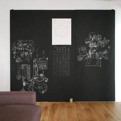 吉祥寺のS邸: VOLOが手掛けた壁です。