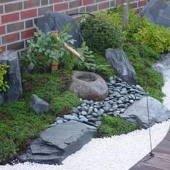 Wasser im Garten, Tsukubai:  Garten von japan-garten-kultur