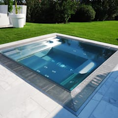 Whirlpool - Ein edler Traum im eigenen Garten:  Pool von Polytherm GmbH.