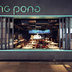 Ping Pong Stratford:  Gastronomy by Superfutures
