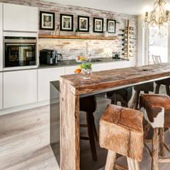 Küche Modern und Altholztheke ZABOROWSKI ** Kreativer Innenausbau Moderne Küchen