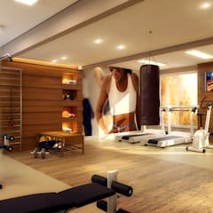 Gym by Biehl Arquitetura,