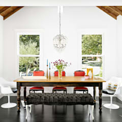Palma Plaza Residence:  Dining room by Hugh Jefferson Randolph Architects