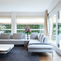 Interieuradvies benedenverdieping Moderne woonkamers van Mood Interieur Modern