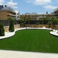 Diseño de jardines de bajo mantenimiento: Jardines de estilo  de contacto36