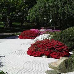jardín zen: Jardines japoneses de estilo  de contacto36