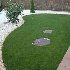 Diseño de jardines de bajo mantenimiento: Jardines japoneses de estilo  de contacto36