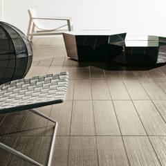 Pavimentos : Paredes de estilo  de Ceramistas s.a.u.
