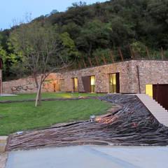 vista completa della proprietà Griswine: Giardino d'inverno in stile  di GRISDAINESE
