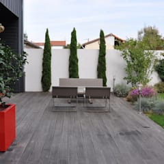 UNJARDIN DE VILLE: Jardin de style  par  GARDEN TROTTER, Moderne