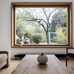 Living room by bertin bichet architectes