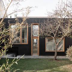 ACAJOU: Maisons de style  par bertin bichet architectes