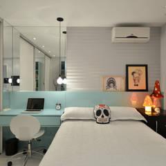 Dormitórios adolescentes!: Quartos  por Johnny Thomsen Arquitetura e Design ,Moderno