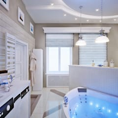 Baños de estilo clásico de EJ Studio Clásico