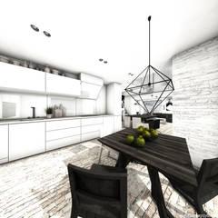 Dom w krajobrazie kujawsko-pomorskim - projekt konkursowy: styl , w kategorii Kuchnia zaprojektowany przez RTP Consulting Sp. z o.o.