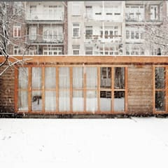 Tuinstudio Amsterdam:  Tuin door Atelier Paco Bunnik
