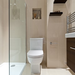 Modern loft transformation :  Bathroom by A1 Lofts and Extensions