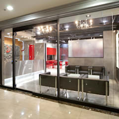Victoria's Nails & Spa: (주)유이디자인의  상업 공간