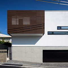 Casas de estilo  por  井上久実設計室