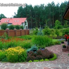 OGRODY: styl , w kategorii Ogród zaprojektowany przez Bioarchitektura  - Ogrody, Krajobraz, Zieleń we wnętrzach