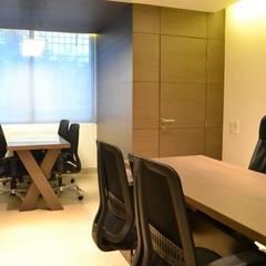 internal spaces: modern  by mold design studio,Modern