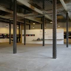 Das Besucherzentrum:  Museen von quartier vier Architekten Landschaftsarchitekten