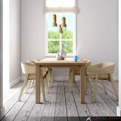 SK ARCHITECTURAL VISUALIZATION – Yemek Odası (Dinning Room): minimal tarz tarz Yemek Odası