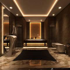 SK ARCHITECTURAL VISUALIZATION – Banyo (Bathroom): modern tarz Banyo