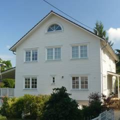 Straßenansicht:  Häuser von Skan-Hus Projekt GmbH